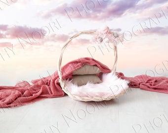 Baby, baby, newborn, newborn, digital background - Digital Backdrop - photo download