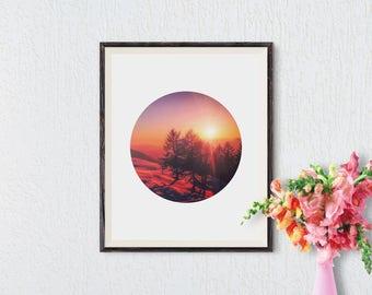Forest Print, Minimalist Art, Forest Art, Minimalist Wall Art, Nordic Art, Modern Art, Black and White Forest, Trees, Photography Print