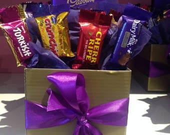 Small Cadbury Block Bouquet