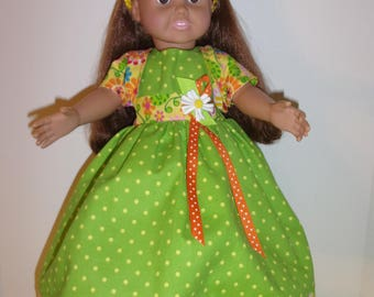 18 inch Doll Clothes- Handmade- 5 piece set, Inventory sale! Free Shipping!