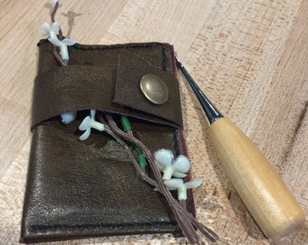 On The Go, Back Pocket Leather Wallet