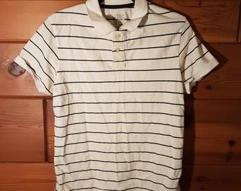 Old Navy Striped Polo, Small.