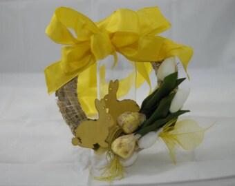 Turkranz, Easter mit Schleife gelber