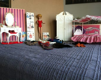Vintage Barbie & Barbie Bedroom Set
