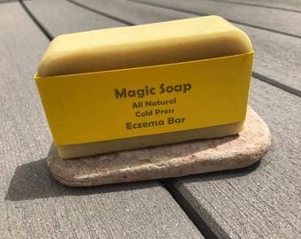 Eczema Bar All Natural Cold Press for Smoother Clearer Skin