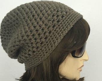 Womens Crochet Hat Womens Slouchy Hat Women Fall Crochet Hat Women Winter Hat Women Accessories