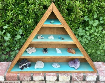 Large Reiki Infused Crystal Display Box