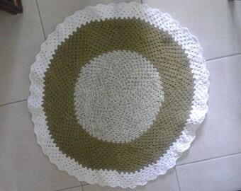 100% Cotton Round Baby Play mat/Rug