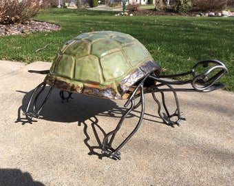 Tortoise - Sculpture Garden Art