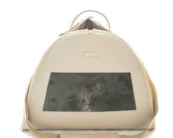 Cat carrier, Pet carrier, Gift for pet lover, Purru-Keep cat calm