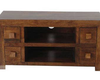 Dakota 4 drawer t v cabinet