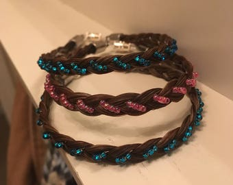 Beaded Horsehair Bracelet