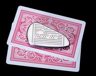 Original MuckMonkeys Poker Card Guard Protector Casino - CHIP UP Golf Club Iron vegas gambling tournament table