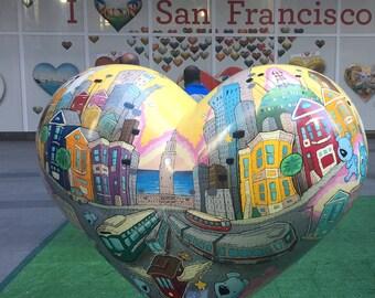 """I Love San Francisco """"I Heart SF"""""""