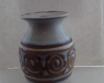 Vintage Pilling pottery vase handmade