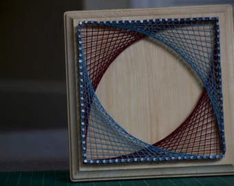 String Art – Straight Lines Only