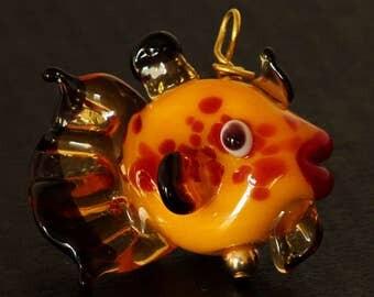 Yellow Glass Fish