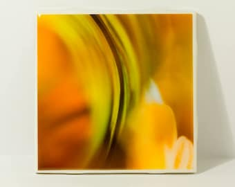 Abstract Ceramic Tile Coasters