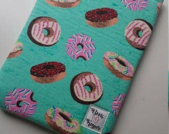 Donut book sleeve -ALL SIZES