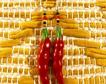 Chili Pepper Earrings