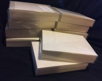 """250 3 5/8"""" x 5 1/8"""" ENVELOPES (for Thank You/Wedding Cards, Invitations, Crafts)"""