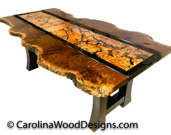 Ipe Live Edge Dining table