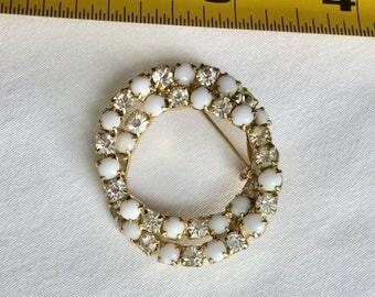 Stunning vintage circle pins