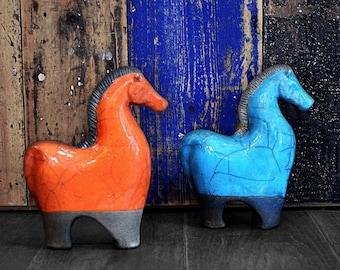 Beautiful, Tactile Ceramic Horse
