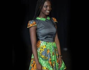 dress wax / African dress