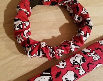 Snoopy Dog Collar Cover