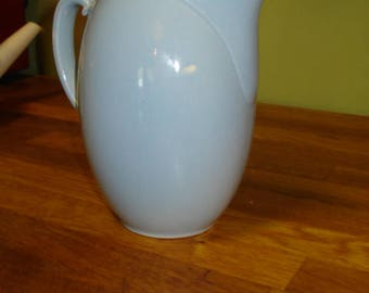 Luray Pastels Windsor Blue Juice Pitcher