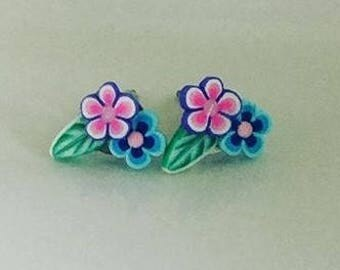 Little Flower Bouquet Earrings