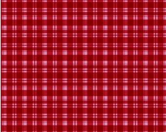 Siser Pattern RED PLAID Easy Weed Easyweed Heat Transfer Vinyl HTV Iron On by the Sheet