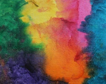 Colorful Abstract Art, Canvas