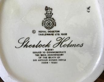 Sherlock Holmes Royal Doulton 1980