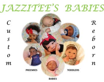 """Custom Reborns - Orders Only- Sizes 14""""-31""""- Various Kits - Unlimited Options - Many Extras"""
