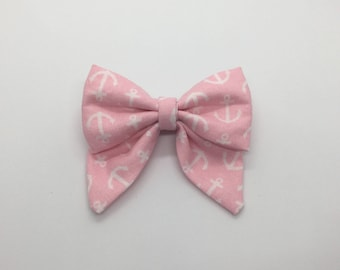 Anchors Aweigh Mini Sailor Bow