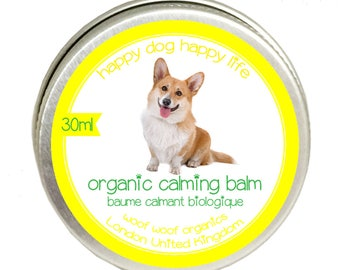 Organic Dog Calming Balm