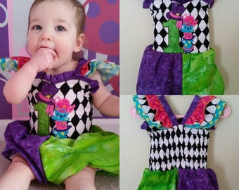 10% Off Use Code JULY4TH - Mad Hatter Romper