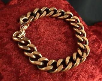 Vintage Copper Chain Bracelet!