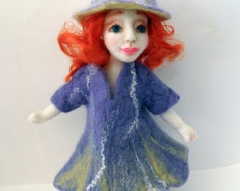 A doll of wool a spring fairy