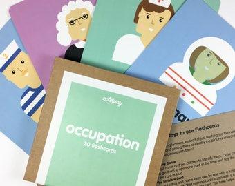 Flashcards for Children - Occupation