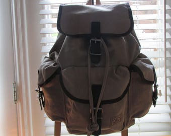 Canvas Rucksack  for Everyday use