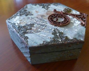 Decoupage RPG dice box