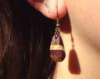 Handmade Natural Earrings