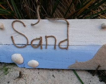 Beach Sign, Beach Decor, Rustic Beach Sign, Wood Sign
