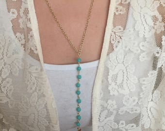 Drop Lariat Necklace