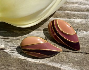 Vintage earrings costume jewelry