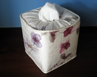 Beautiful Floral Everyday Tissue Box