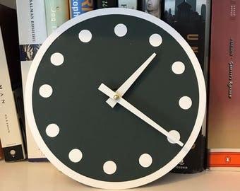 Wrigley Scoreboard Clock